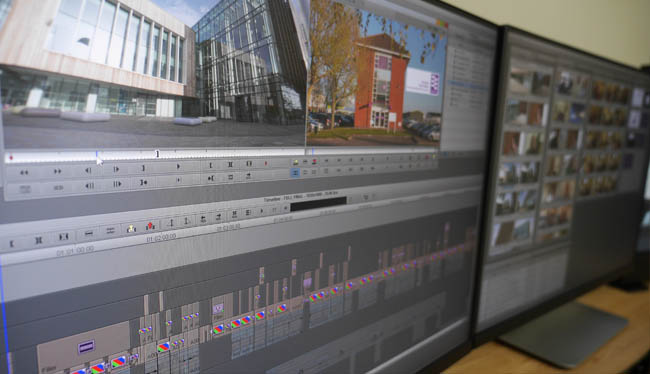 Edit suite screens